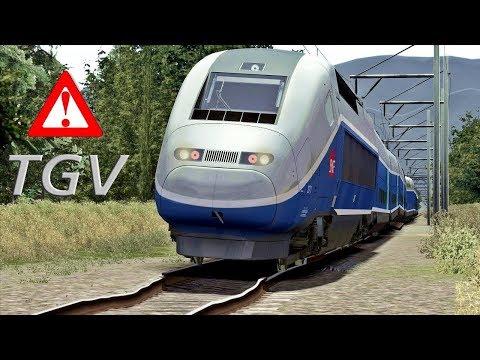 TGV TRAIN FOR THE WORST TRACKS 🚄👈 |