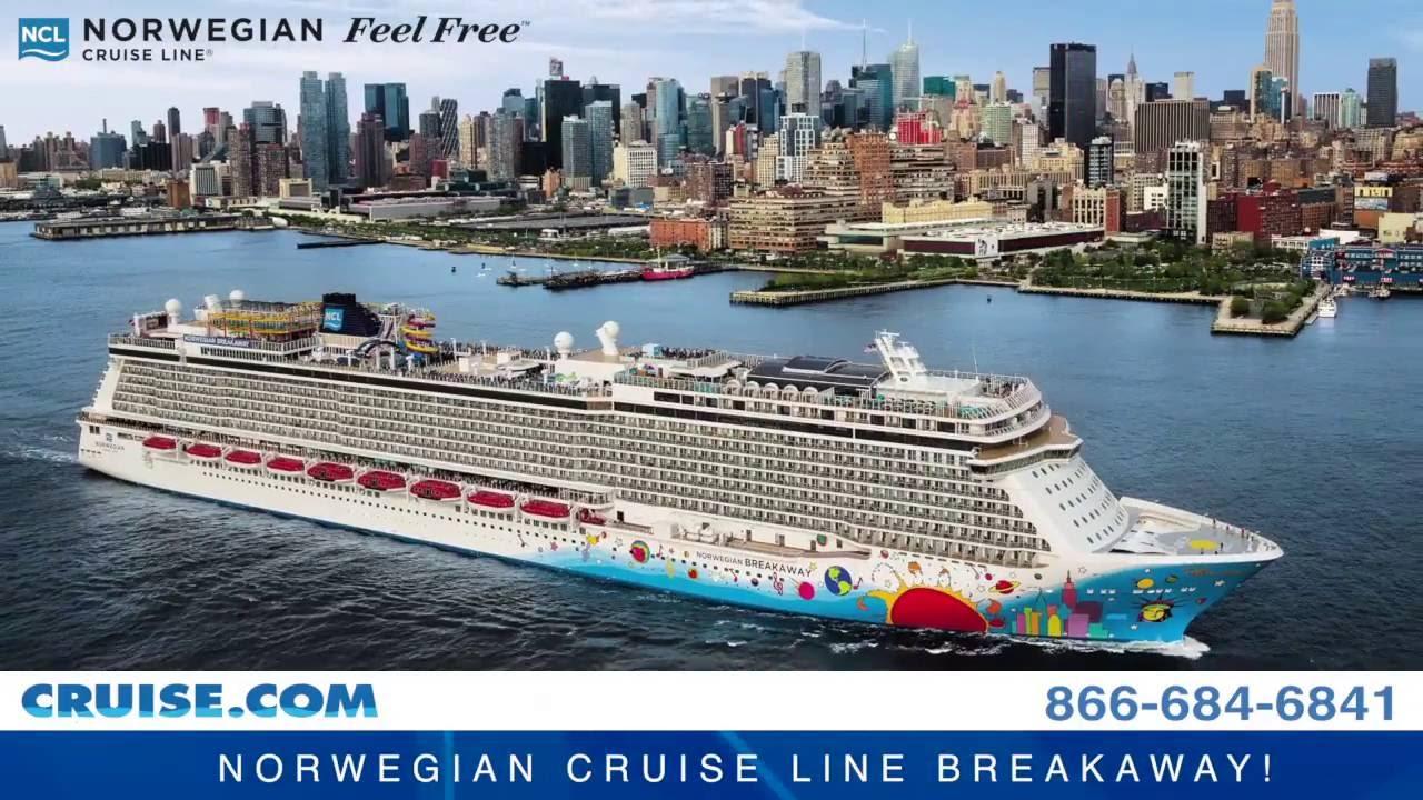 Norwegian Breakaway Cruise Sailing Year Round From New York YouTube - Norwegian breakaway cruise ship