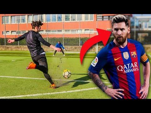 LIONEL MESSI FUßBALL CHALLENGE !!!