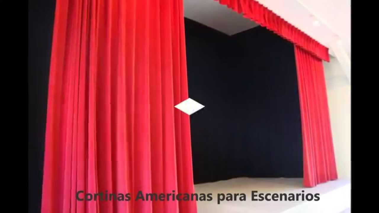 Cortinas para teatros youtube - Como hacer unas cortinas paso a paso ...