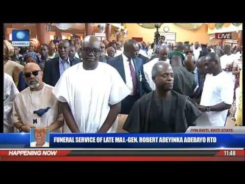 Funeral Service Of Major Gen Robert Adeyinka Adebayo Rtd Pt 3