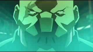 Бэтмен (Дик Грейсон) и Робин против Еретика и его подручных (Бэтмен: Дурная кровь 2016)