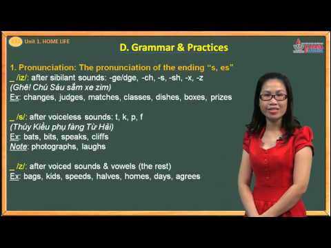 Tiếng anh lớp 12 - Bài 1 - The home life - Grammar & Practices - Cadasa.vn
