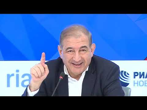 مؤتمر صحفي لرئيس منصة موسكو د.قدري جميل 02/02/2018  - 16:24-2018 / 2 / 2