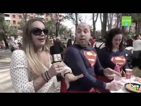 Algeciras se vuelca con el Carnaval y celebra la Gran Hada Popular en el parque María Cristina