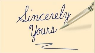 Cursive Writing - Complete Lesson - With Practice Sheets