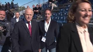 Lifschitz participó en Rosario del acto inaugural del Mundial Juvenil de Rugby