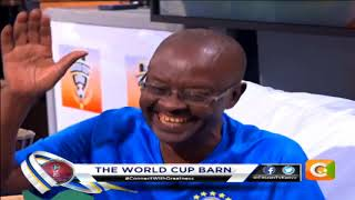 The World Cup Barn:  22nd JUNE-Mohammed Juma Nguguna #FeelTheBarn