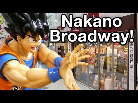 Nakano Broadway [4K Vlog] • 5.15.16