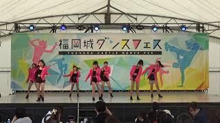 black diamond福岡城ダンスフェス20190506