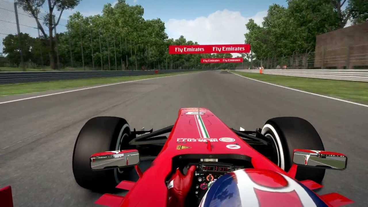 F1 2013 Monza Hotlap + Setup - YouTube