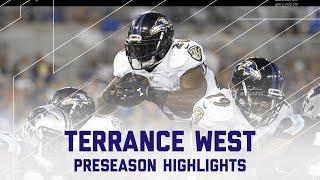Terrance West Highlights | Panthers vs. Ravens | NFL