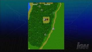 Xevious Xbox Live Gameplay - Green Forest Battle
