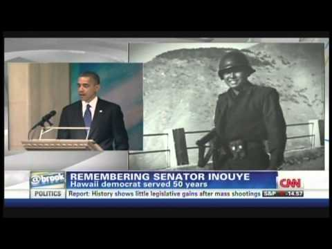 President Obama remembers Senator Daniel Inouye (December 21, 2012)