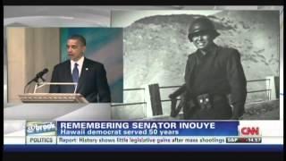 President Obama remembers Senator Daniel Inouye (December 21, 2012)
