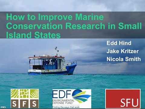 How to Improve Marine Conservation Research in Small Island States