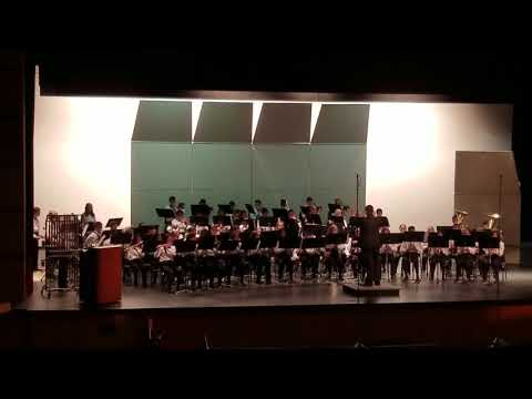 Adrenaline engines, Berry Miller Junior High Honors Band, Fall concert 2017