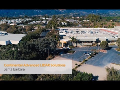 Continental Advanced LIDAR Solutions | Santa Barbara