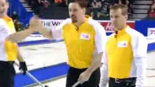 2009 Tim Hortons Brier - Jeff Stoughton Double Runback (NFLD vs. MAN)