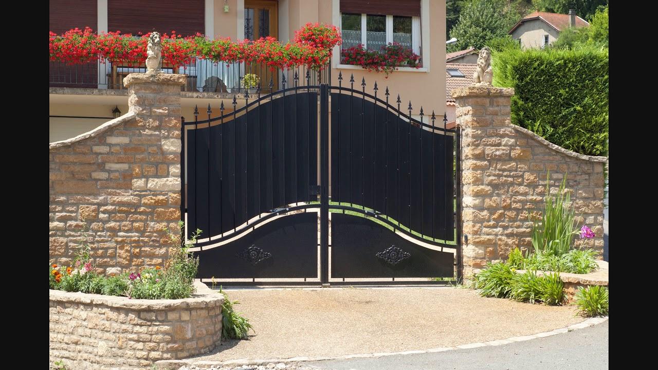 Дизайн ворот частного дома своими руками фото 788