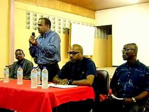 Contractors Meet With Jack Warner and other Trade Unions Part 1
