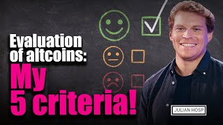 Evaluation of Altcoins: My 5 criteria!