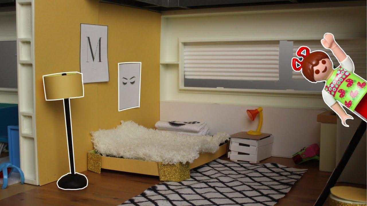 💛Playmobil Kinderzimmer für Maya - Pimp my PLAYMOBIL - Familie Sonnenschein Dollhouse DIY's für Kids