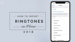 How to IMPORT custom Ringtone on iPhone without PC   Top 10 Popular Ringtones for iPhone and Android
