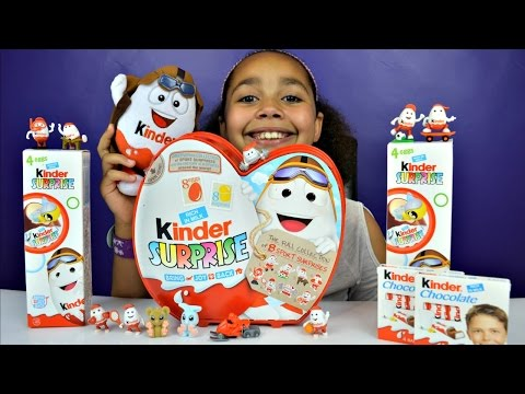 Thumbnail: NEW Kinder Surprise Sports Collection - Kinder Surprise Chocolate Eggs - Toy Opening - Candy Review