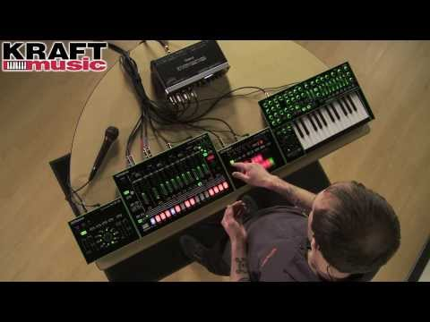 Kraft Music  Roland AIRA Series Demo with Casey Bishop