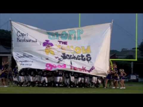 Cartersville Purple Hurricanes Come Out Of Banner