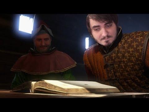 Мэддисон играет в Kingdom Come: Deliverance #7 - Братва учится читать
