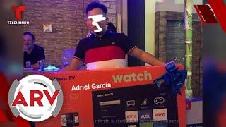 Empleado nuevo ganó un televisor de 50 pulgadas en el trabajo y no volvió | Al Rojo Vivo | Telemundo