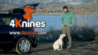 Lifetime Warranty Dog Seat Cover For Your Car, Truck, SUV  4Knines