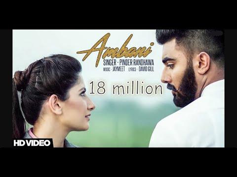 Ambani || Pinder Randhawa || Jaymeet  || Latest Punjabi Song 2017 || True Records