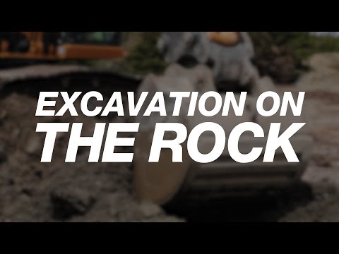 "North America: Excavating on ""The Rock"""