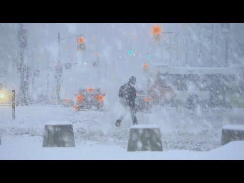 Winter Storm Warning In Ottawa