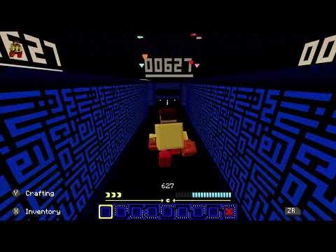 Minecraft PAC-MAN DLC Nintendo Switch Gameplay