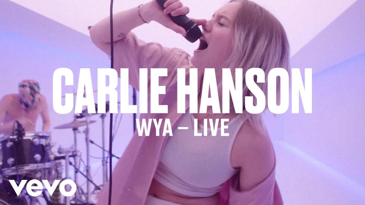 Carlie Hanson — «WYA» (Live) | Vevo DSCVR