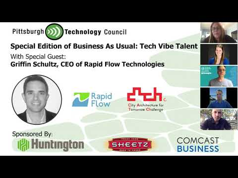 Business as Usual Featuring Griffin Schultz, Rapid Flow Technologies