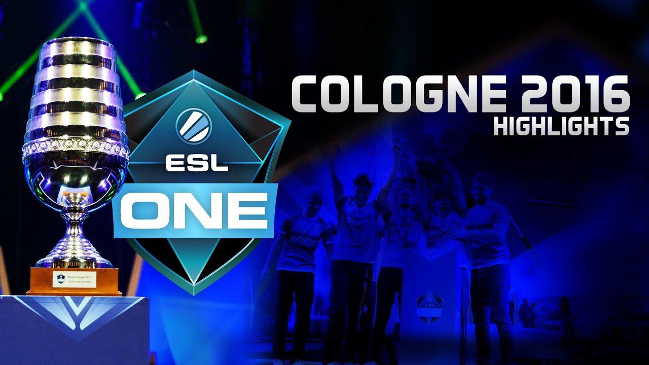 Download ESL One Cologne 2016 highlights