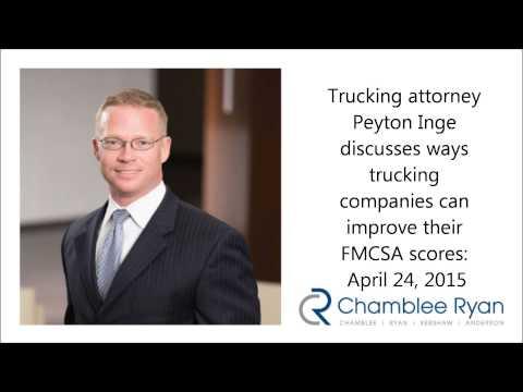 Trucking attorney Peyton Inge: Keys to improving FMCSA safety scores