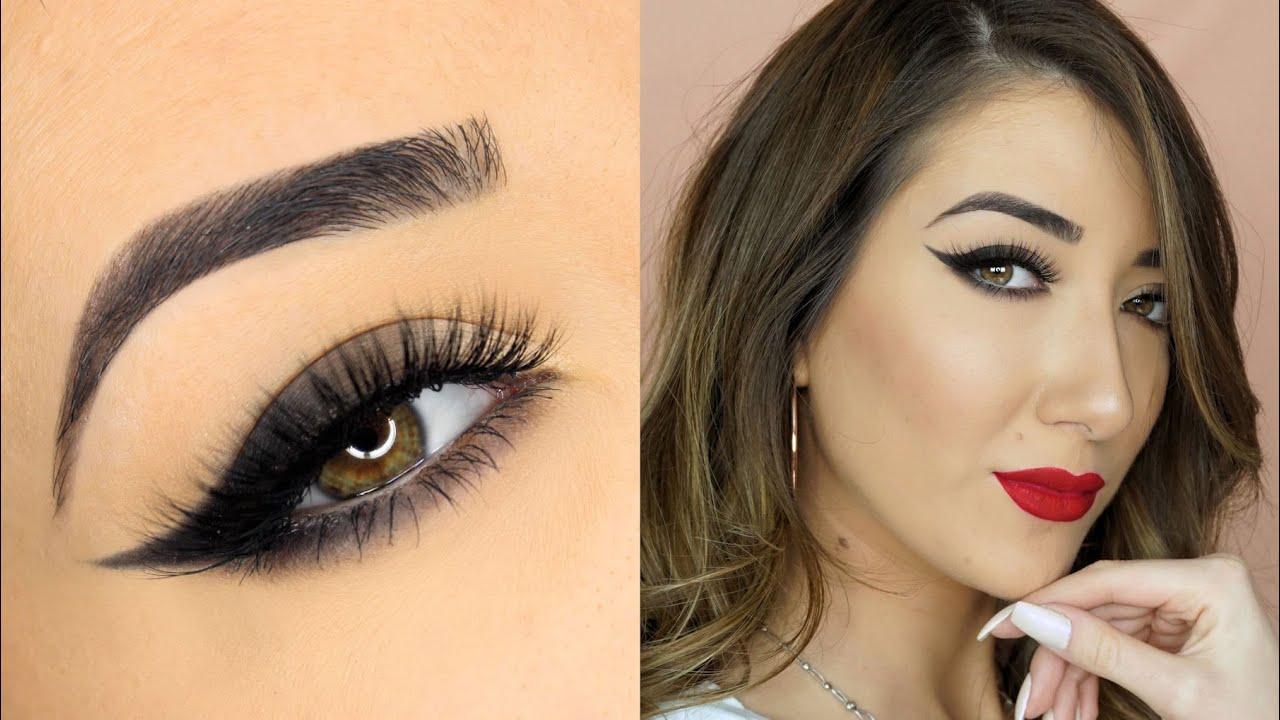 Gradient Smokey Cat Eye Makeup Tutorial Makeup Geek Cosmetics Full