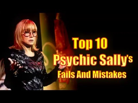 10 Psychic Sally Fails And Mistakes (Sally Morgan is a Fraud?Exposed?)