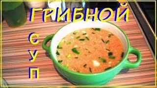 Суп Грибной Быстрый Рецепт с геркулесом