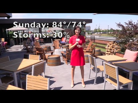 Cleveland's Friday sun might turn to thunderstorms: On the patio weekend weather forecast with Kelly Reardon (video)