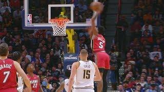 Nuggets Blowout Heat! Jones Jr Crazy Dunk! 2019-20 NBA Season Video