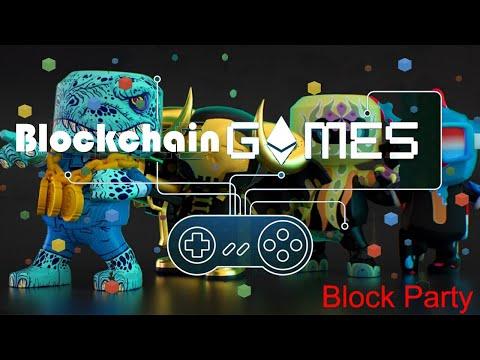 Blockchain Games – Lançamento Oficial Blankos Party