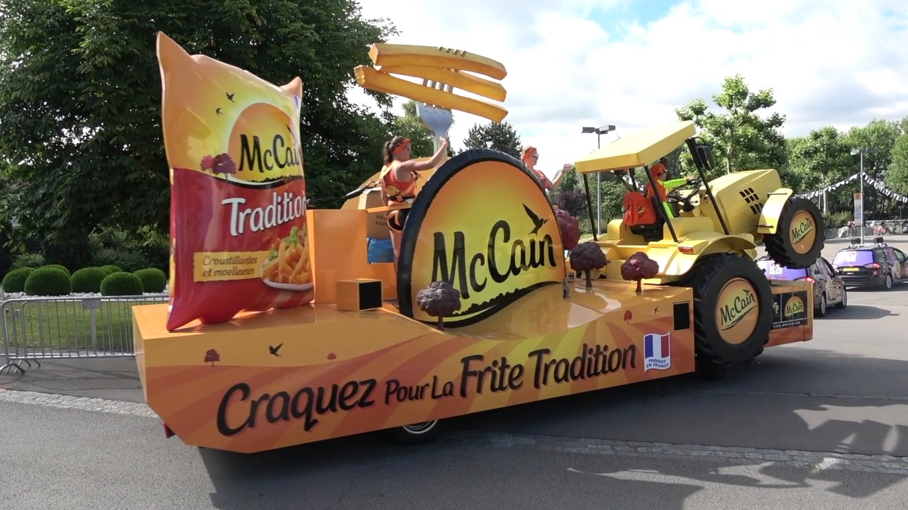 La caravane publicitaire du tour de france 2017 mondorf for Salon de la caravane