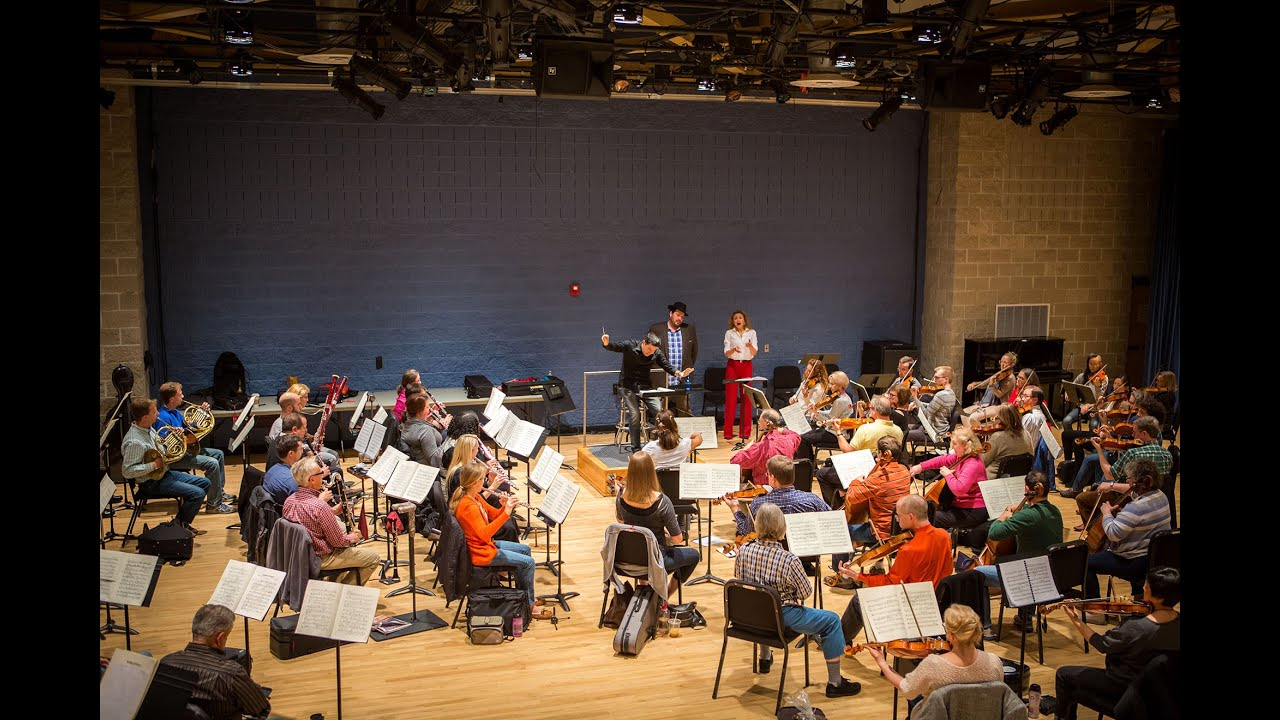 sitzprobe for madama butterfly, featuring milwaukee symphony